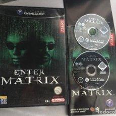 Videogiochi e Consoli: ENTER THE MATRIX PAL ATARI ESPAÑOL PORTUGUES NINTENDO GAMECUBE GAME CUBE GC NGC. Lote 152337762