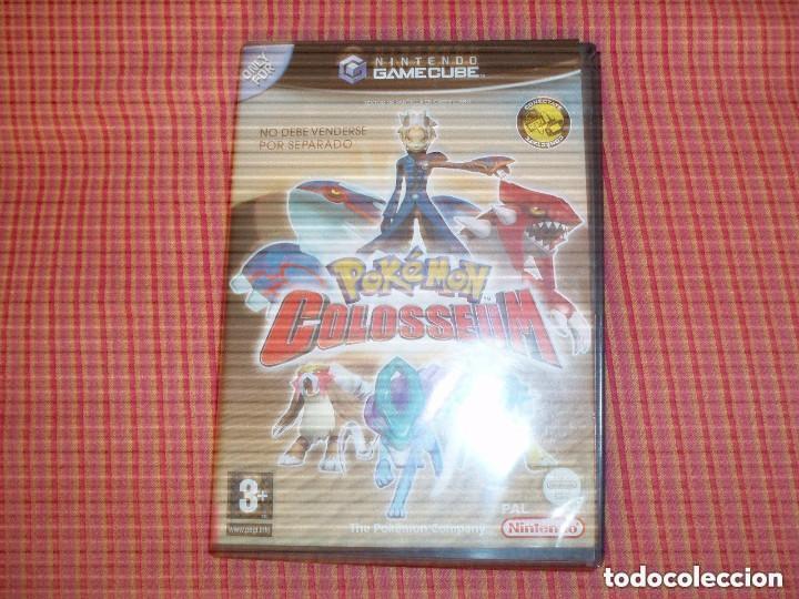 JUEGO NINTENDO GAMECUBE POKEMON COLOSSEUM (Juguetes - Videojuegos y Consolas - Nintendo - Gamecube)
