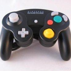 Videojuegos y Consolas: NINTENDO GAMECUBE MANDO CONTROLLER NEGRO ORIGINAL BLACK JOYSTICK NUEVOS!!! R8836. Lote 155668222