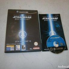 Videojuegos y Consolas: STAR WARS JEDI OUTCAST JEDI KNIGHT 2 NINTENDO GAMECUBE PAL ESPAÑA COMPLETO. Lote 156507846