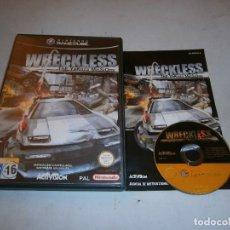Videojuegos y Consolas: WRECKLESS THE YAKUZA MISSIONS NINTENDO GAMECUBE PAL ESPAÑA COMPLETO. Lote 157576734
