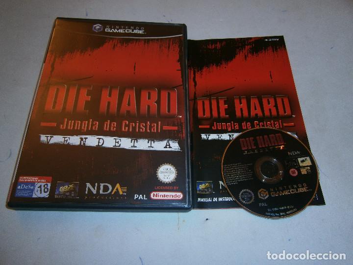DIE HARD VENDETTA NINTENDO GAMECUBE PAL ESPAÑA COMPLETO (Juguetes - Videojuegos y Consolas - Nintendo - Gamecube)