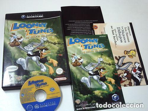 JUEGO NINTENDO GAMECUBE LOONEY TUNES (Juguetes - Videojuegos y Consolas - Nintendo - Gamecube)