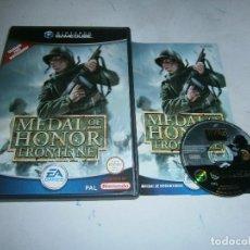 Videojuegos y Consolas: MEDAL OF HONOR FRONTLINE NINTENDO GAMECUBE PAL ESPAÑA COMPLETO. Lote 159711858