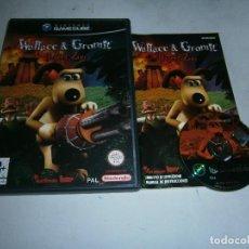 Videogiochi e Consoli: WALLACE & GROMIT IN PROJECT ZOO NINTENDO GAMECUBE PAL ESPAÑA COMPLETO. Lote 159711862
