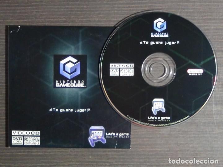 DISCO DE MÁS DE 60 MINUTOS DE IMÁGENES DE JUEGOS DE GAMECUBE NINTENDO PROMO (PC, CD-ROM) (Juguetes - Videojuegos y Consolas - Nintendo - Gamecube)