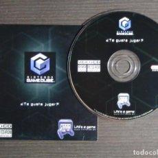 Videojuegos y Consolas: DISCO DE MÁS DE 60 MINUTOS DE IMÁGENES DE JUEGOS DE GAMECUBE NINTENDO PROMO (PC, CD-ROM). Lote 159860666