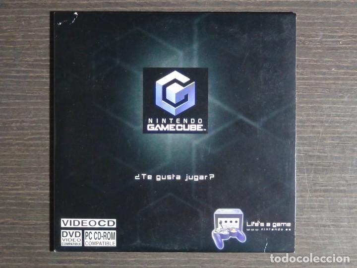 Videojuegos y Consolas: Disco de más de 60 minutos de imágenes de juegos de GameCube Nintendo Promo (PC, CD-ROM) - Foto 2 - 159860666