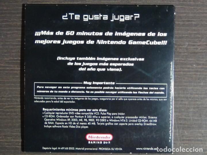 Videojuegos y Consolas: Disco de más de 60 minutos de imágenes de juegos de GameCube Nintendo Promo (PC, CD-ROM) - Foto 3 - 159860666