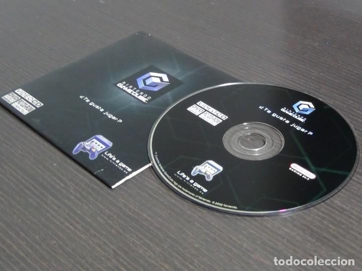 Videojuegos y Consolas: Disco de más de 60 minutos de imágenes de juegos de GameCube Nintendo Promo (PC, CD-ROM) - Foto 4 - 159860666