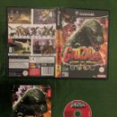 Videojuegos y Consolas: GODZILLA: DESTROY ALL MONSTERS GAMECUBE COMPLETO!!!. Lote 160430318