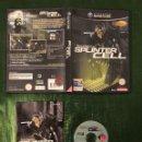 Videojuegos y Consolas: SPLINTER CELL GAMECUBE COMPLETO!!!. Lote 160430434
