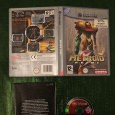 Videojuegos y Consolas: METROID PRIME GAMECUBE SIN MANUAL!!. Lote 160430474
