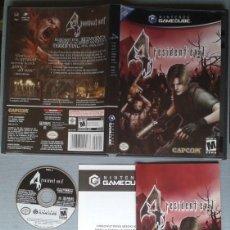 Videojuegos y Consolas: NINTENDO GAMECUBE 4 RESIDENT EVIL NTSC USA VERSION R8994. Lote 160611478