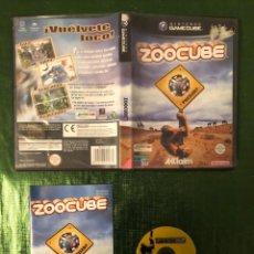 Videojuegos y Consolas: ZOOCUBE GAMECUBE COMPLETO!!!. Lote 160846850