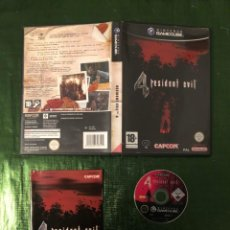 Videojuegos y Consolas: RESIDENT EVIL 4 GAMECUBE COMPLETO!!!. Lote 160847422