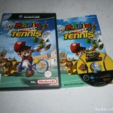 Videogiochi e Consoli: MARIO POWER TENNIS NINTENDO GAMECUBE PAL ESPAÑA COMPLETO. Lote 161808234