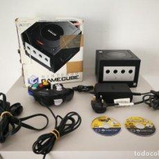 Videojuegos y Consolas: CONSOLA NINTENDO GAMECUBE GAME CUBE CON CAJA Y JUEGOS. Lote 162583350