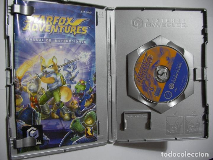 Videojuegos y Consolas: ANTIGUO JUEGO GAMECUBE - STARFOX AVENTURES - Foto 2 - 166236190