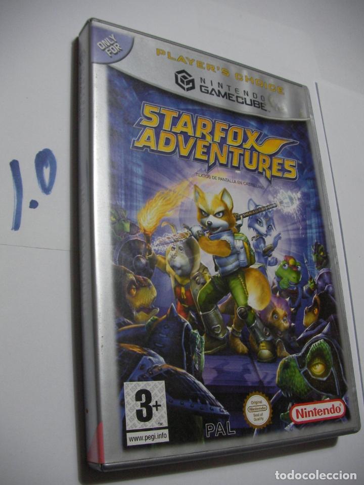ANTIGUO JUEGO GAMECUBE - STARFOX AVENTURES (Juguetes - Videojuegos y Consolas - Nintendo - Gamecube)
