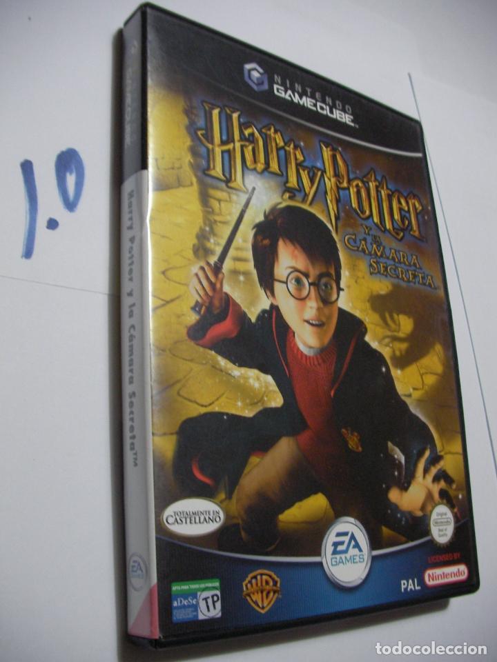 ANTIGUO JUEGO GAMECUBE - HARRY POTTER Y LA CAMARA SECRETA (Juguetes - Videojuegos y Consolas - Nintendo - Gamecube)