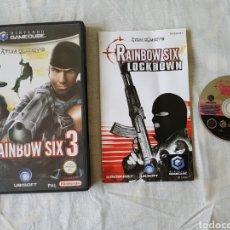 Videojuegos y Consolas: RAINBOW SIX 3 GAMECUBE. Lote 166392957