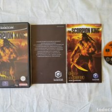 Videojuegos y Consolas: THE SCORPION KING GAMECUBE. Lote 166393136