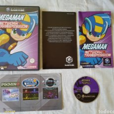 Videojuegos y Consolas: MEGAMAN MEGA MAN NETWORK TRANSMISSION GAMECUBE. Lote 166396980