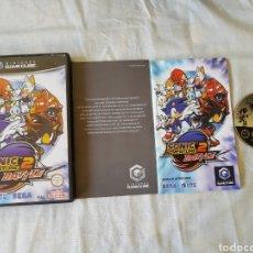 Videojuegos y Consolas: SONIC ADVENTURE 2 BATTLE GAMECUBE. Lote 166397238