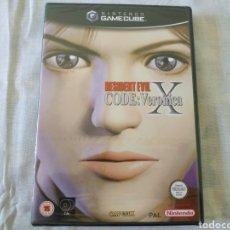 Videojuegos y Consolas: RESIDENT EVIL CODE: VERONICA X GAMECUBE (PRECINTADO). Lote 166397894