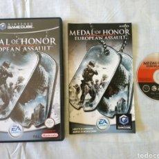 Videojuegos y Consolas: MEDAL OF HONOR EUROPEAN ASSAULT GAMECUBE. Lote 166398594
