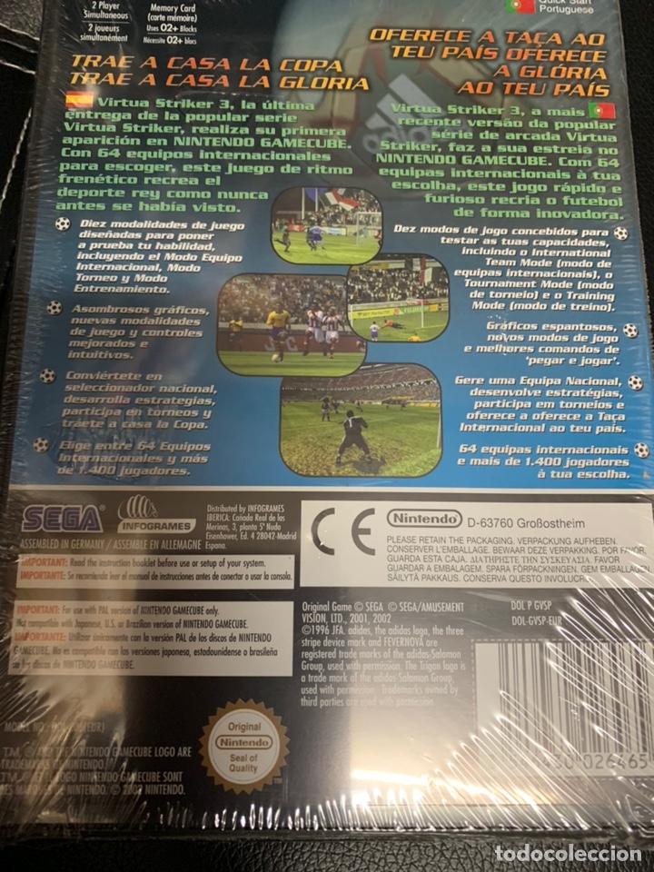 Videojuegos y Consolas: GAMECUBE VIRTUA STRIKER VER. 2002 - Foto 2 - 169842913