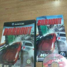 Videojuegos y Consolas: BURNOUT - NINTENDO GAMECUBE GAME CUBE GC WII PAL UK. Lote 170353212