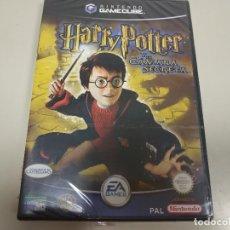 Videojuegos y Consolas: JJ-HARRY POTTER Y LA CAMARA SECRETA GAMECUBE VERSION ESPAÑA NUEVO PRECINTADO . Lote 171626862