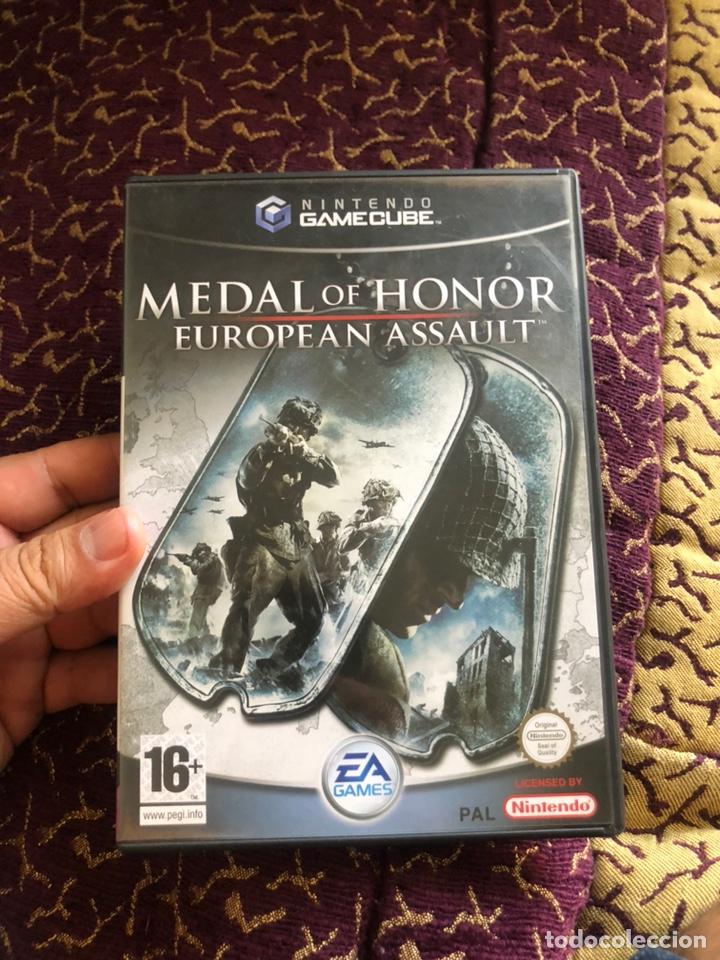JUEGO NINTENDOCUBE MEDAL OF HONOR (EUROPEAN ASSAULT) COMPLETO (Juguetes - Videojuegos y Consolas - Nintendo - Gamecube)