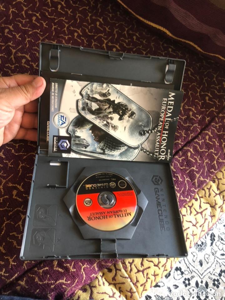 Videojuegos y Consolas: Juego NintendoCube MEDAL OF HONOR (EUROPEAN ASSAULT) completo - Foto 2 - 172083843