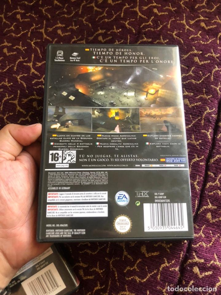 Videojuegos y Consolas: Juego NintendoCube MEDAL OF HONOR (EUROPEAN ASSAULT) completo - Foto 4 - 172083843