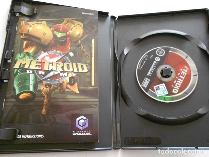 Videojuegos y Consolas: ANTIGUO JUEGO GAMECUBE - METROID PRIME - Foto 2 - 172912523