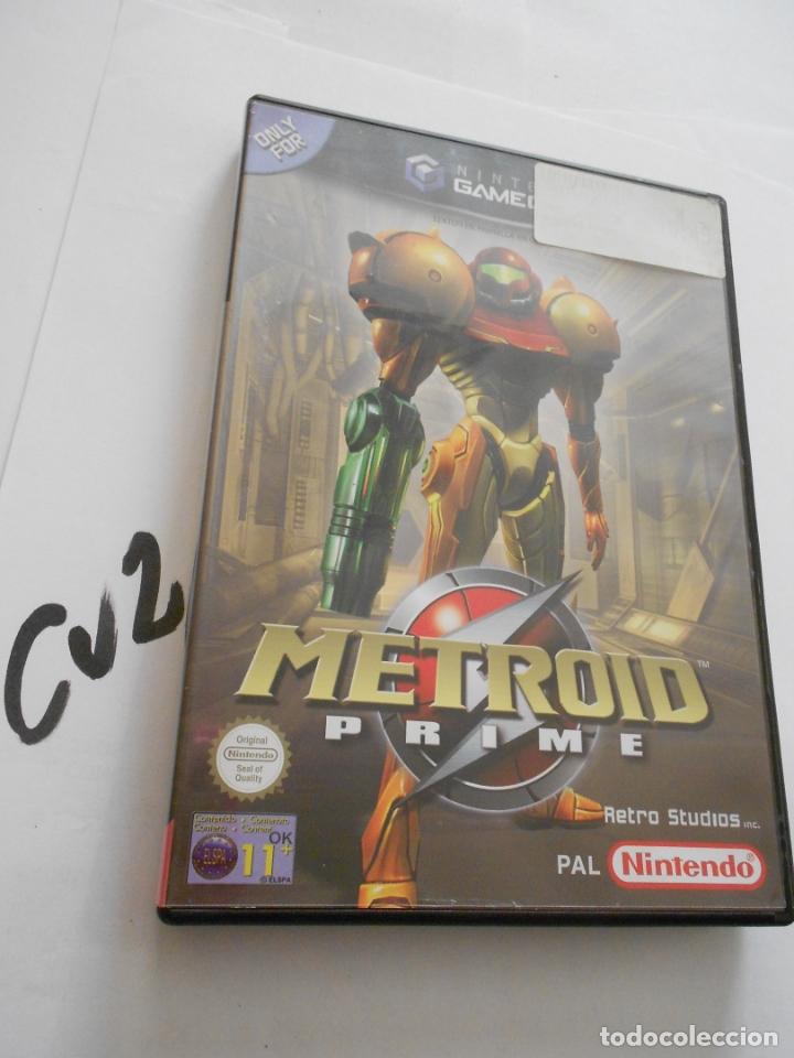 ANTIGUO JUEGO GAMECUBE - METROID PRIME (Juguetes - Videojuegos y Consolas - Nintendo - Gamecube)