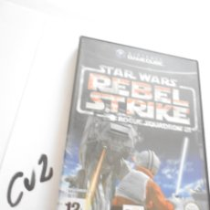Videojuegos y Consolas: ANTIGUO JUEGO GAMECUBE - STAR WARS REBEL STRIKE. Lote 172912612