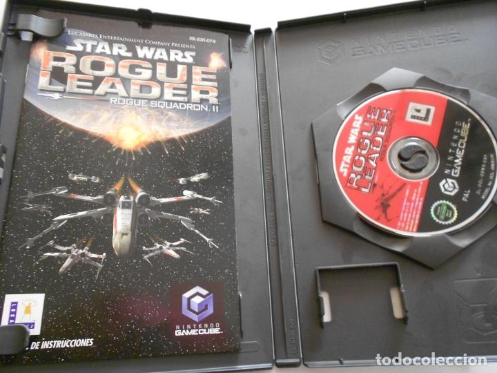 Videojuegos y Consolas: ANTIGUO JUEGO GAMECUBE - STAR WARS ROGUE LEADER - Foto 2 - 172912655
