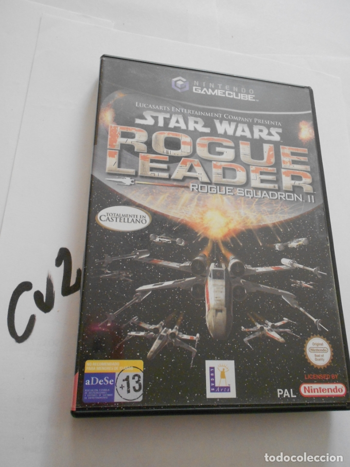 ANTIGUO JUEGO GAMECUBE - STAR WARS ROGUE LEADER (Juguetes - Videojuegos y Consolas - Nintendo - Gamecube)