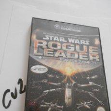 Videojuegos y Consolas: ANTIGUO JUEGO GAMECUBE - STAR WARS ROGUE LEADER. Lote 172912655