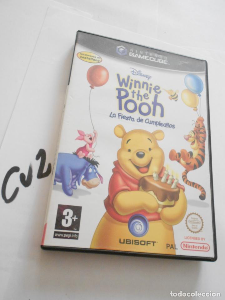 ANTIGUO JUEGO GAMECUBE - WINNIE THE POOH (Juguetes - Videojuegos y Consolas - Nintendo - Gamecube)