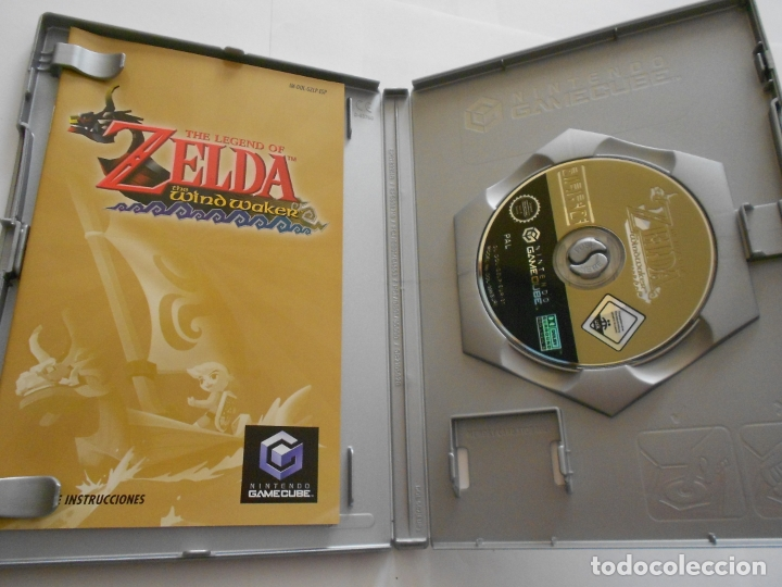 Videojuegos y Consolas: ANTIGUO JUEGO GAMECUBE - ZELDA THE WIND WAKER - Foto 2 - 172912804