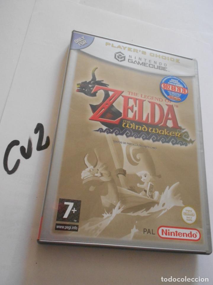 ANTIGUO JUEGO GAMECUBE - ZELDA THE WIND WAKER (Juguetes - Videojuegos y Consolas - Nintendo - Gamecube)