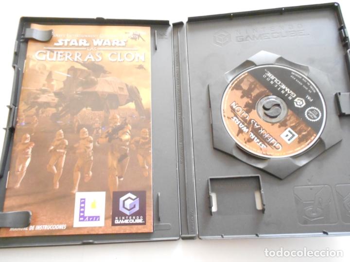 Videojuegos y Consolas: ANTIGUO JUEGO GAMECUBE - STAR WARS GUERRAS CLON - Foto 2 - 172912847