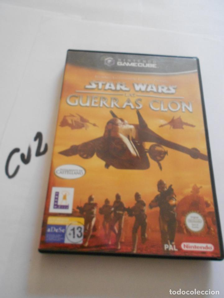 ANTIGUO JUEGO GAMECUBE - STAR WARS GUERRAS CLON (Juguetes - Videojuegos y Consolas - Nintendo - Gamecube)