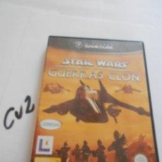 Videojuegos y Consolas: ANTIGUO JUEGO GAMECUBE - STAR WARS GUERRAS CLON. Lote 172912847