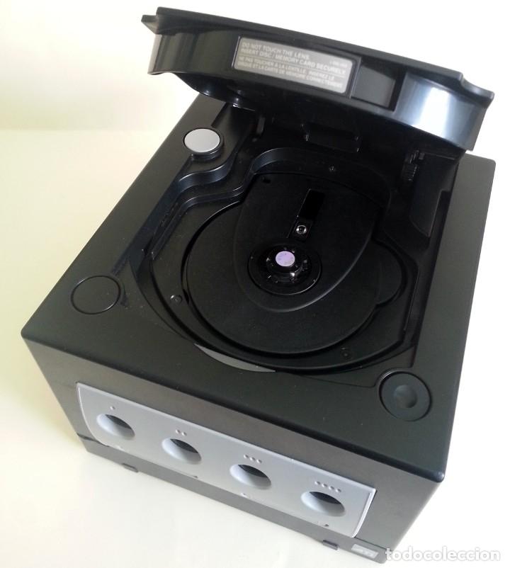 Videojuegos y Consolas: CONSOLA GAMECUBE NEGRA CON MANDO Y CABLES - Foto 2 - 173790332